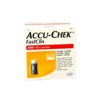 Accu-Chek FastClix lancets 204 pieces