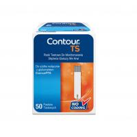 Contour TS glucose test strips 50 pieces