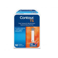 Contour TS glucose test strips 50 pieces