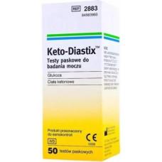 Keto-Diastix Test Strips - 50 strips