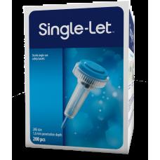 Single-Let® disposable lancets 28Gx1,6mm 200 pcs