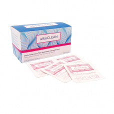 Alkoclean gauze for disinfection package 100 pieces
