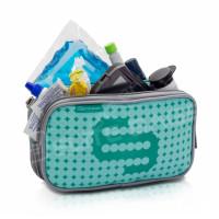 Green isothermal bag for diabetics
