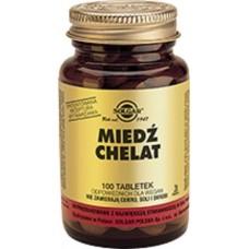 Minerals Copper amino acid chelate 100 tablets Solgar