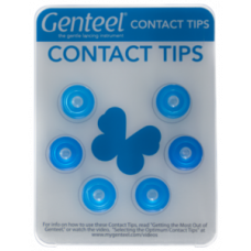 Genteel #1 Replacement Contact Tips – Blue (6 pack)