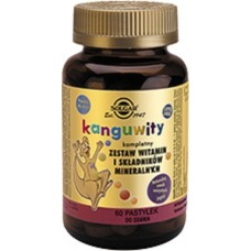 Kangavites® Solgar 60 Chewable Tablets For Children Bouncing Berry flavour
