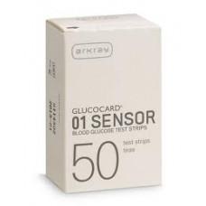 Glucocard 01 Sensor glucose test strips 50 pcs