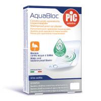 Aquabloc POST-OP 8x10cm (5) antibacterial adhesive bandages