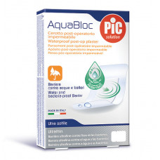 Aquabloc POST-OP 8x10cm (5) antibacterial adhesive bandages