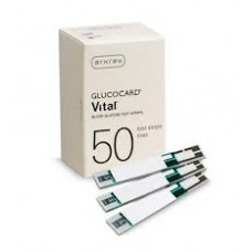 Glucocard Vital glucose test strips 50 pieces
