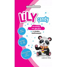 Lily candy for sore throat raspberry flavor 40g