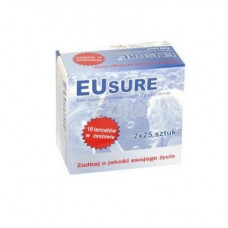 Eusure glucose test strips 50 pieces