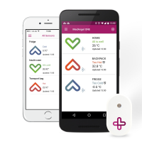 MedAngel ONE – medication temperature sensor for your smartphone