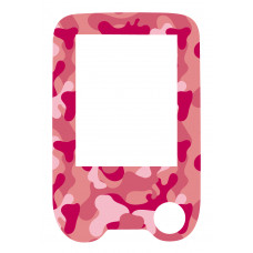 Sticker with a protective foil for the FreeStyle Libre reader - Pink moro