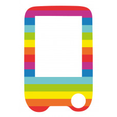 Sticker with a protective foil for the FreeStyle Libre reader - Rainbow
