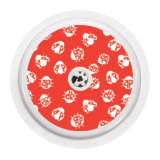 FreeStyle Libre Sticker - Red Ladybugs