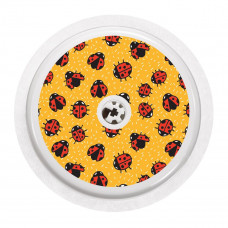 FreeStyle Libre Sticker - Ladybugs in Color