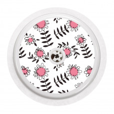 FreeStyle Libre Sticker - Pink Flowers