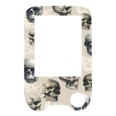 Sticker with a protective foil for the FreeStyle Libre reader - Skull