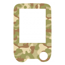 Sticker with a protective foil for the FreeStyle Libre reader - Camouflage