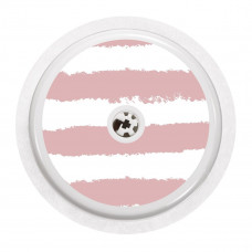 FreeStyle Libre Sticker - Pink Stripes