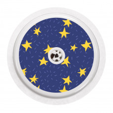 FreeStyle Libre Sticker - Dark Blue Stars