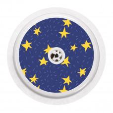 FreeStyle Libre Sticker - Dark Blue Stars