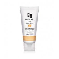 AA for diabetics. Softening protective foot cream 75ml for diabetics