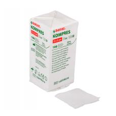 Non-sterile gauze compress 5cmx5cm - 100 pieces - 8 layers 13 threads