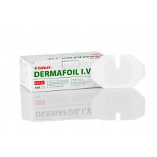 Dermafoil adhesive cannula foil dressing 6x7cm 100 pcs
