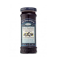 St Dalfour black raspberry jam without sugar 284g