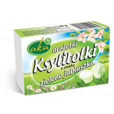 Xylitol candy green apple flavor 40g sugar-free