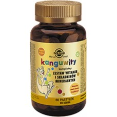 Kangavites® Solgar 60 Chewable Tablets Tropical Punch For Children