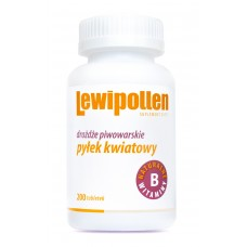LEWIPOLLEN tablets from brewer's yeast containing bee pollen pack of 200