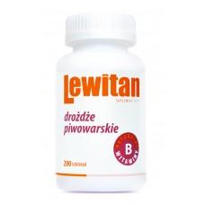 LEWITAN Brewer's yeast tablets 200 pack
