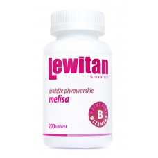 LEWITAN Lemon balm 200 tablets pack