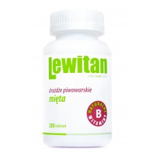 LEWITAN PEPPERMINT 200 tablets pack