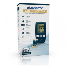 DIAGNOSTIC GOLD glucometer