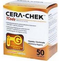 Cera-Chek glucose test strips 50 pieces