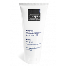 Ziaja med, foot cream, urea 15%, ultra-moisturizing treatment