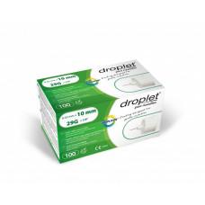 Droplet® 29G 10mm x 0.33mm pen needles - 100 pcs