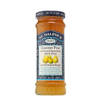 St Dalfour pear jam without sugar 284g