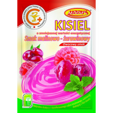 Jelly raspberry-cranberry flavored 49g