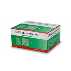 Bd Micro-fine Plus Insulin Syringes U40 1ml 30g X 8mm - box of 100
