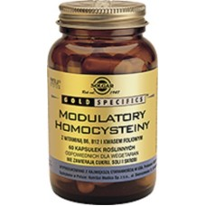 Gold specifics Homocysteine modulators 60 capsules Solgar