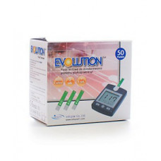 Evolution glucose test strips 50 pieces