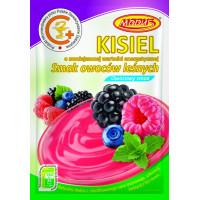 Jelly with forest fruit flavor 49g