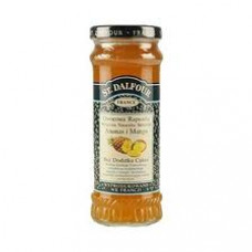 Dalfour Jam with pineapple and mango taste, no sugar added, 284 g