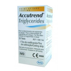 Accutrend Strips Triglycerides 25 pieces