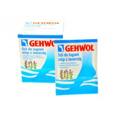 Gehwol foot bath salt with lavender 10 sachets x 20g